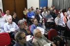 Profissionais HVACR que acompanharam as palestras da RECOMSERVICE durante a Quinta Tecnológica ABRAVA